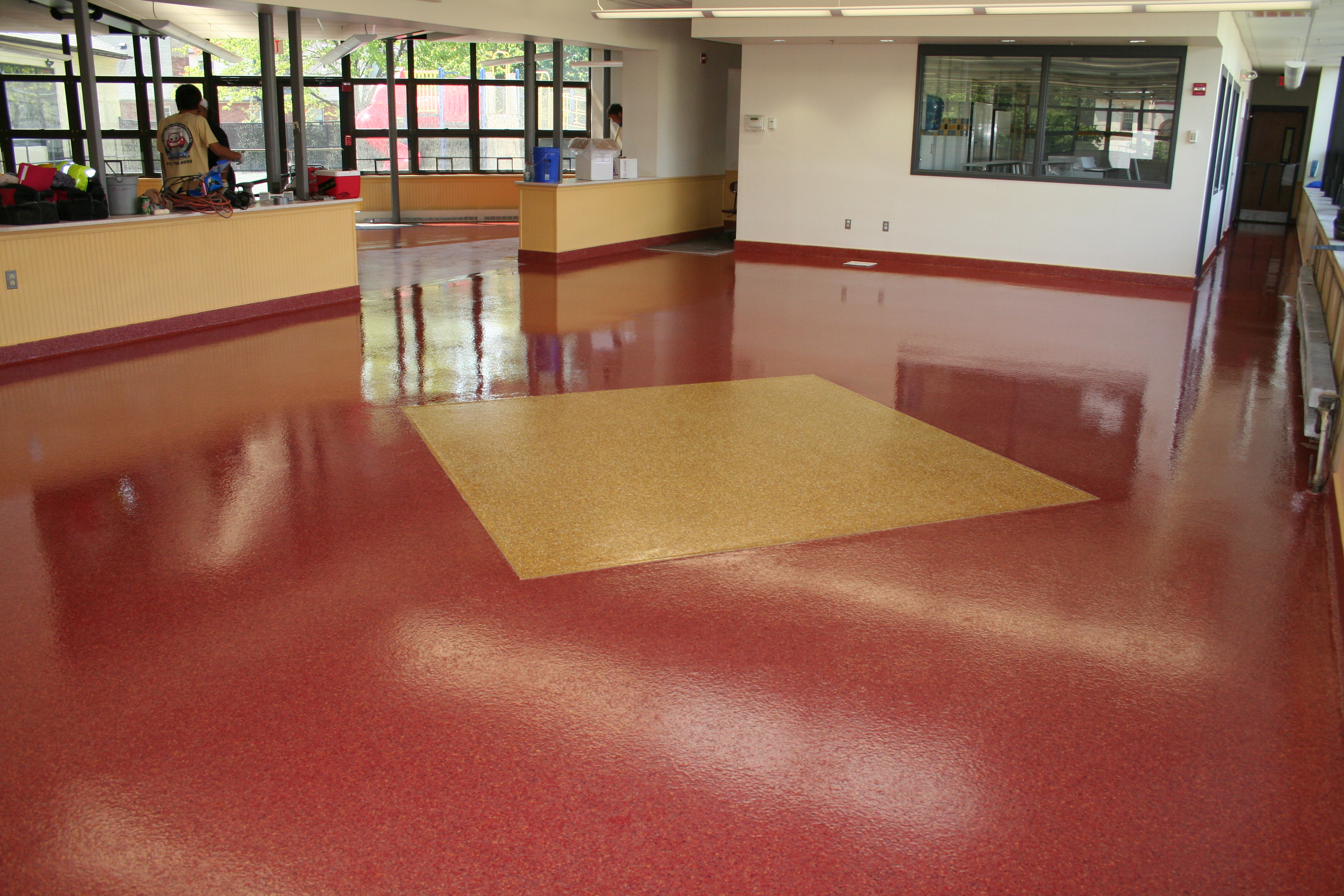 Epoxy Kitchen Flooring